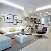 色调鲜明的室内设计