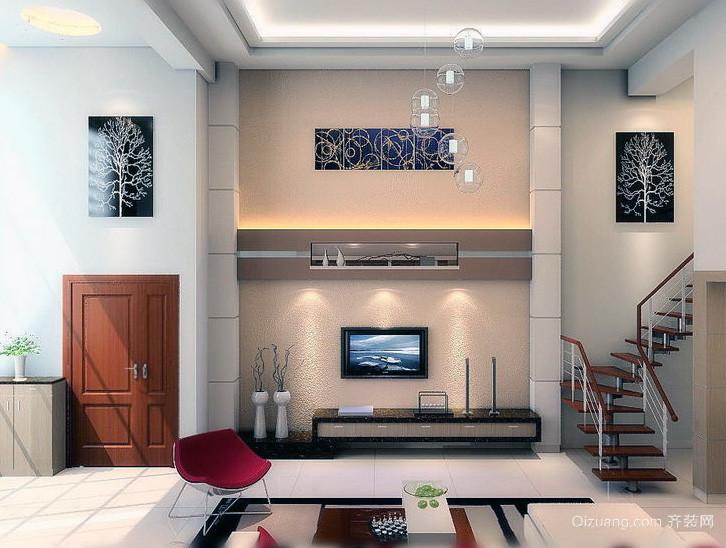 2016经典别墅型欧式客厅鞋柜装修效果图欣赏