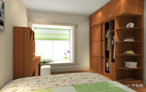 2016精美的现代欧式大户型卧室衣柜装修效果图