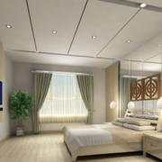 120平米高贵的大户型欧式卧室装修效果图