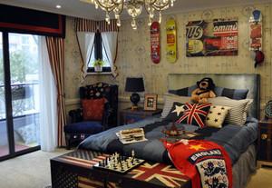 二居室轻快风格儿童卧室装修效果图