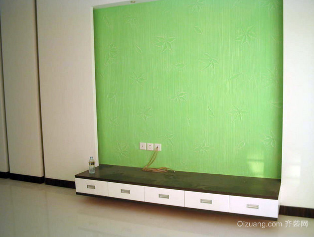 跃层时尚风格液体壁纸装修效果图片
