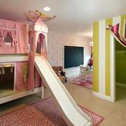 2016大户型充满童趣儿童卧室装修效果图