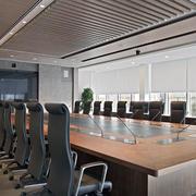 都市风格会议室效果图