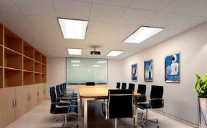 2016氛围严肃型会议室装修效果图