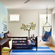 别墅自然风格儿童卧室装修效果图