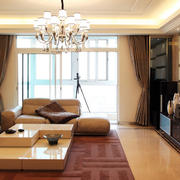 140平米都市家居客厅装修效果图