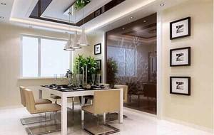 90平米大户型简欧风格室内餐厅装修效果图大全