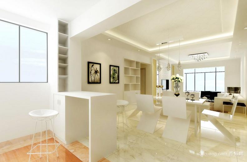 别墅后现代风格吧台设计装修效果图