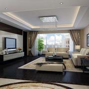 现代客厅唯美图