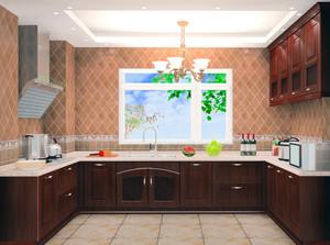 21世纪大户型欧式完美的厨房吊顶装修效果图