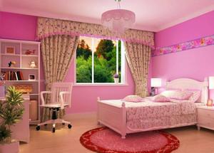 128平米都市风格儿童卧室装修效果图