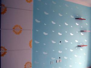 复式楼现代风格液体壁纸装修效果图片