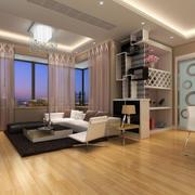 时髦小户型一室一厅玄关家装案例