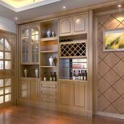 实木酒柜设计图片
