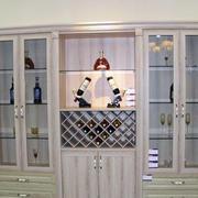 精致型酒柜设计图片