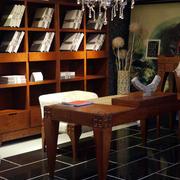 中式风格书柜装修大全