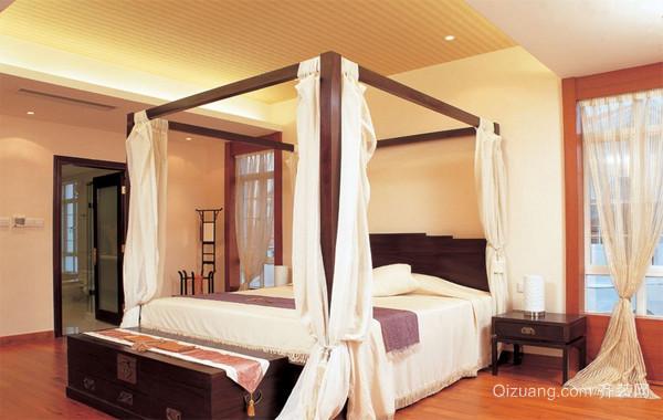 2016经典欧式小户型卧室吊顶装修效果图实例