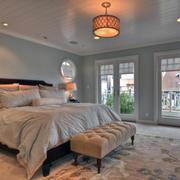 精致的卧室飘窗造型图
