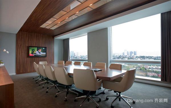 豪华型酒店会议室设计装修效果图