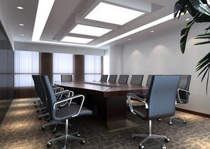 上市公司会议室装修效果图