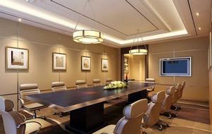 会议室背景墙效果图