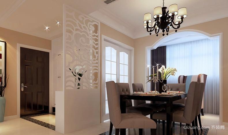 宜家70平米小户型家装餐厅案例