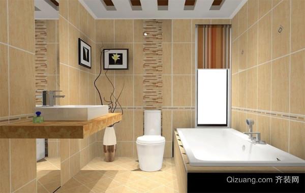 现代都市大户型精美的欧式卫生间装修效果图