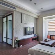 公寓客厅现代混搭设计