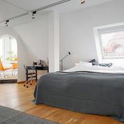 公寓简约化卧室设计