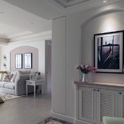 美式客厅照片墙