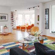 公寓时尚混搭彩色家装