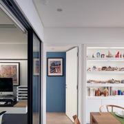 公寓清新书架设计