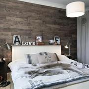 公寓时尚男士卧室