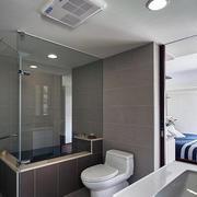 美式公寓卫生间