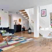 公寓简约化过道设计