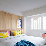 公寓清新小卧室
