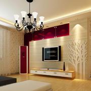 三居室豪华型风格客厅装修效果图
