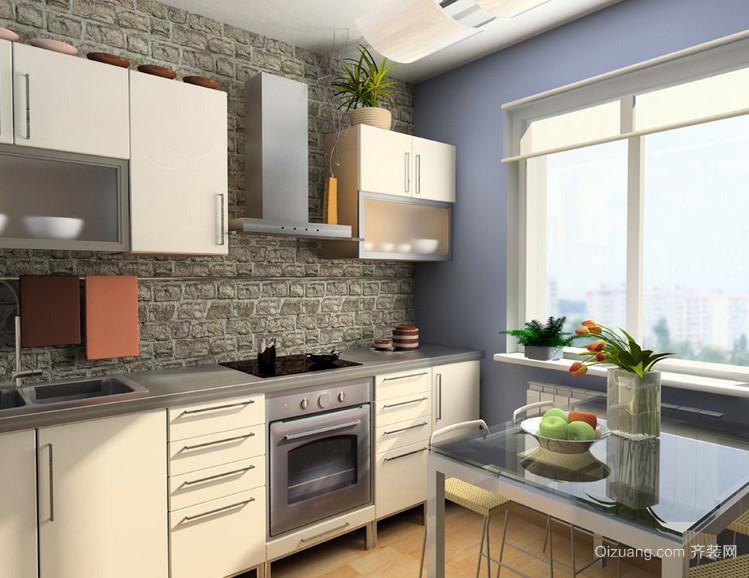小户型欧式风格厨房装修效果图