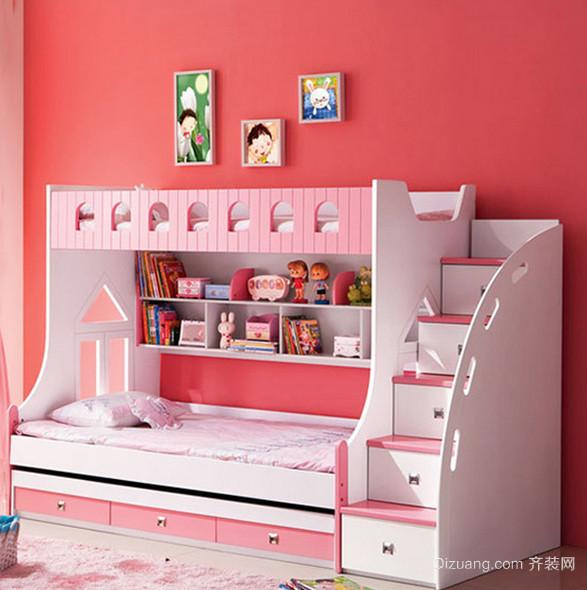 108平米唯美系列儿童高低床效果图片