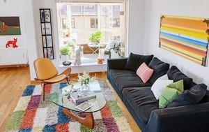 98平米大户单身公寓装修平面图展示