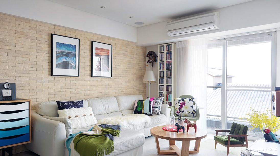 2居温馨时尚单身公寓平面装修图展