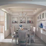 白色温馨型公寓