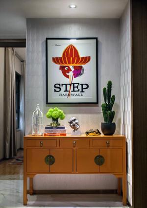90平米现代化小户型单身公寓平面装修
