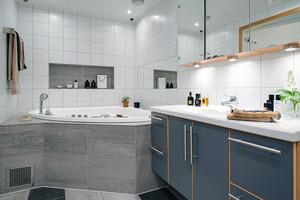 公寓简约化卫生间设计