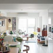 彩色混搭型小公寓