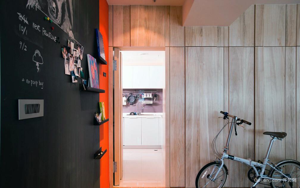 干净优雅40平米小户型宜家装修设计图