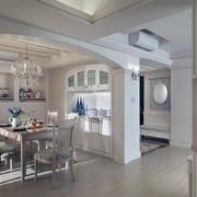 美式唯美复古简约型客厅