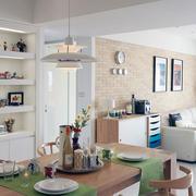 公寓时尚现代型小书房