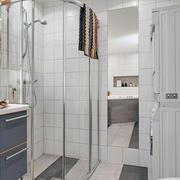 公寓简洁卫生间设计